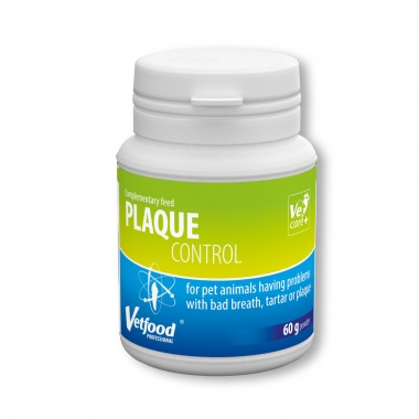 Plaque Control 60 g Vetfood