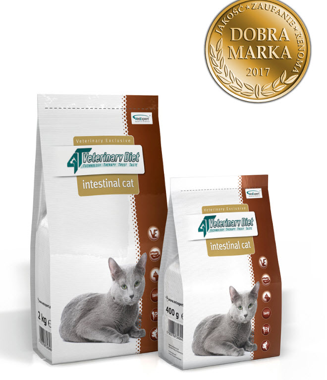 4T VET Diet Intestinal Cat 2 kg